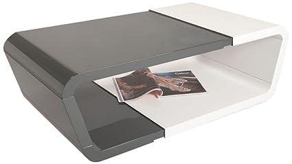 HL Design Dana Coffee Table, 110 x 60 x 36 cm, White