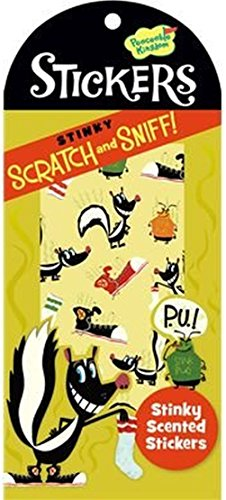 Peaceable Kingdom Scratch and Sniff Stinky Scented Sticker Pack