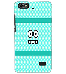 PrintDhaba Cartoon D-4888 Back Case Cover for HUAWEI HONOR 4C (Multi-Coloured)