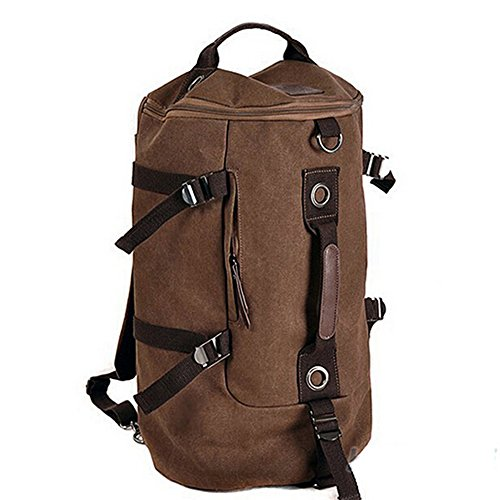 Syyeah Man Travel Bag Outdoor Mountaineering Backpack Men Bags Hiking Camping Canvas Bucket Shoulder Bag