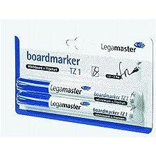 Legamaster marqueur pour tableau tZ 1, 5-3 1, mm, rechargeable, emballage blister bleu-lot de 2