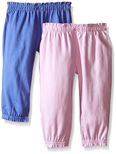 Carter's Baby Girls' 2 Pack Pants - Lavendar/Lilac - 9 Months