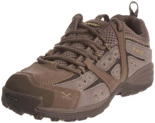 Hi-Tec Women's V-Lite Total Terrain Lace Old Moss/Custard Hiking Shoe O001127/041/01 8 UK