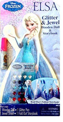 Disney Frozen Elsa Wooden Doll Storybook - 1