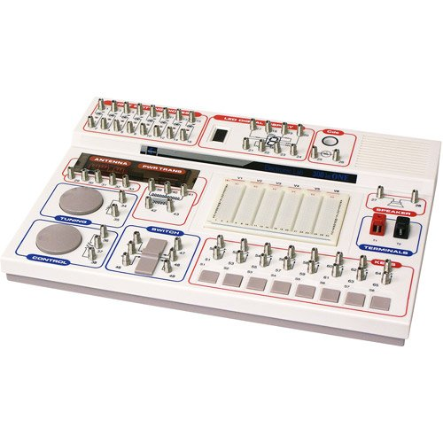 Classic Electronic Project Lab 300-In-1 Uses Spring-Wire & Breadboard Connection