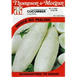 Thompson & Morgan 425 Cucumber 'Long White' Seed Packet