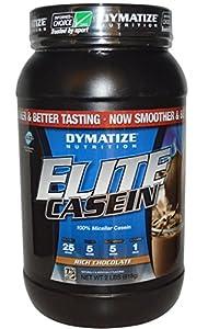 Dymatize Nutrition Elite Casein, Chocolate Milk, 2. Pound