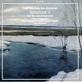 """Reznicek, E.N. Von: Symphony No. 1, """"Tragische"""" / 4 Bet- Und Bussgesange"""