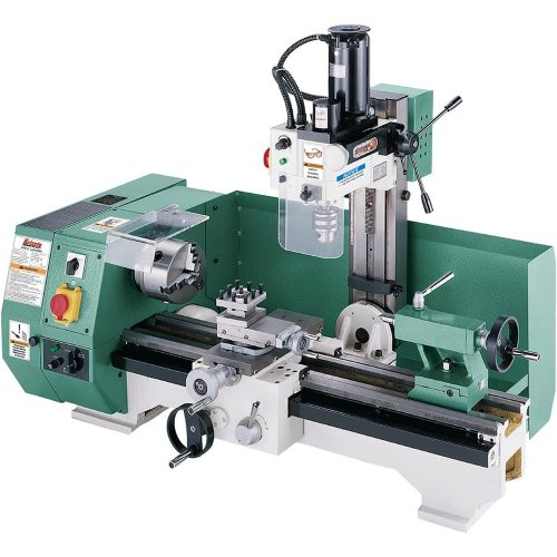 Find Bargain Grizzly G0516 Combo Lathe with Milling Attachment