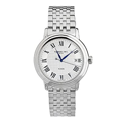 Raymond Weil Men's 2837-St-00659 Automatic Stainless Steel Silver Dial Watch