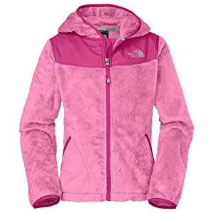 The North Face Oso Hoodie (Little Kids/Big Kids) Ruffle Pink MD (10-12 Big Kids) from The North Face
