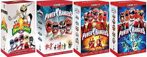 Power Rangers Complete Series Box Sets (SEASONS 1 - 17) [DVD] [1993 - 2009] (Alien Rangers Dvd compare prices)