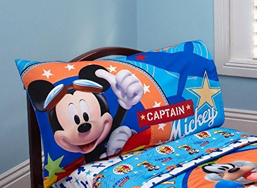 Disney mickey mouse oh boy twin bedding comforter set