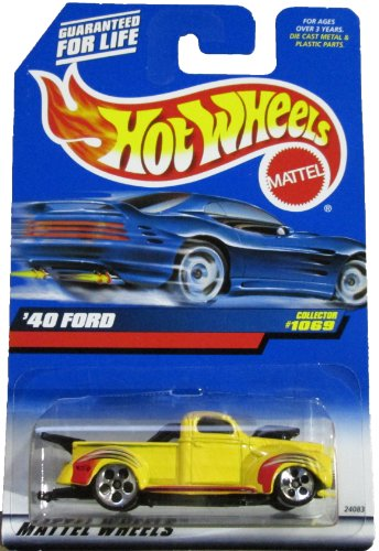 Hot Wheels Yellow '40 Ford Collector #1069
