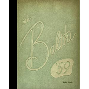 (Reprint) 1959 Yearbook: Baldwin High School, Pittsburgh, Pennsylvania Baldwin High School 1959 Yearbook Staff