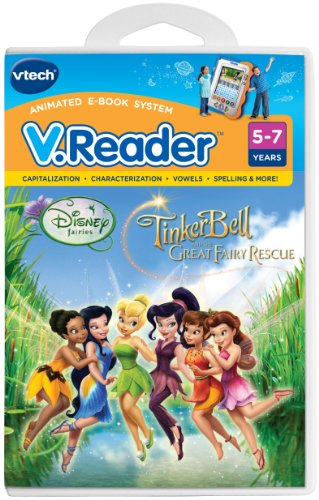 VTech - V.Reader Software - Disney's Fairies - Tinkerbell and The Great Fairy Rescue - 1
