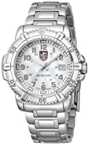 Luminox Colormark Mother of Pearl Dial Stainless Steel Ladies Watch A.7258