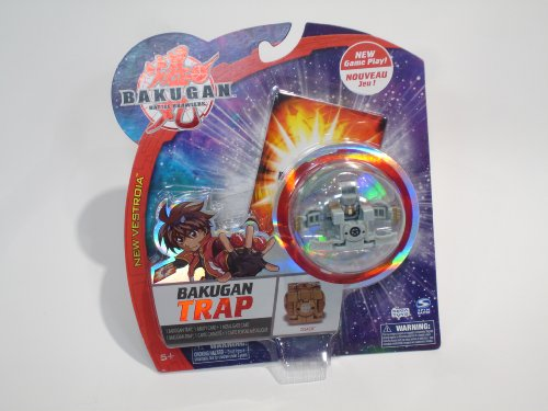 Bakugan Trap - Zoack - Marble Color Varies