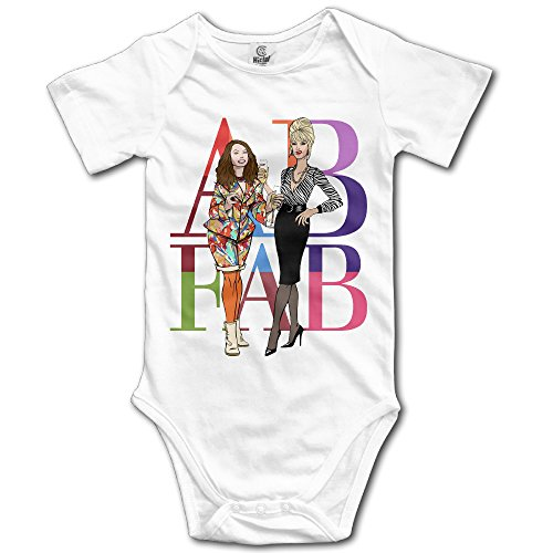 AB Absolutely Fabulous - POY-SAIN Cute Kids' Baby Romper Suit Climb Clothes Size24 Months White
