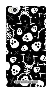 Koveru Designer Printed Protective Snap-On Durable Plastic Back Shell Case Cover for Xiaomi Redmi 3S - Paint Pattern