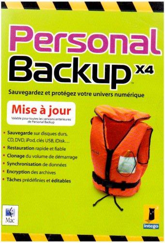 Personal Backup X4 - (Version 10.4 ) - Ensemble De Mise À Niveau - 1 Utilisateur - Mac - Français