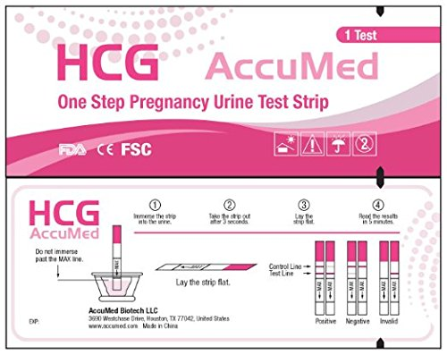 AccuMed-25-Count-Pregnancy-HCG-Test-Strips-Clear-and-Accurate-Results-FDA-Approved-and-Over-99-Accurate
