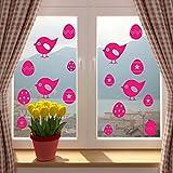 Ostern Küken und Ostereier, jedes Fenster oder jede Wand ^vorgestanzt, selbstklebend, Vinyl, Dekoration für Haus oder Shop. FAST &&FREE P P!