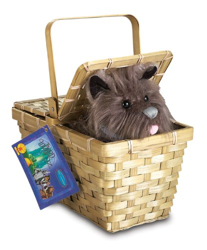 Toto In Basket Deluxe Wizard Of Oz 583