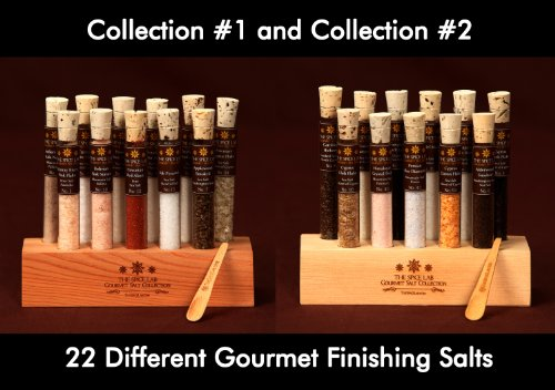 Gourmet Sea Salt Sampler Collection No. 1 & No.