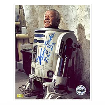 Kenny Baker Autographed 8x10 Inside R2-D2 Photo at Amazon's