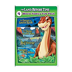 The Land Before Time VI-IX 4-Movie Family Fun Pack