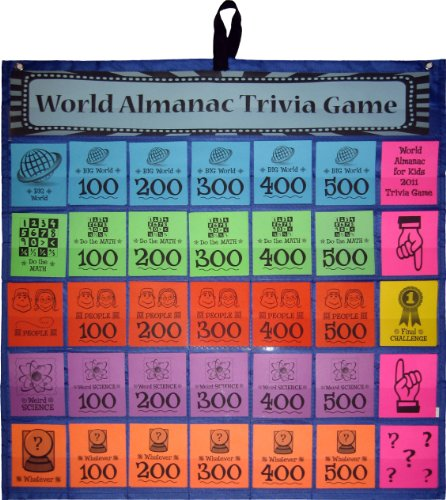 The World Almanac for Kids 2012 Trivia Game