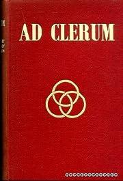 Ad clerum by Hensley Henson