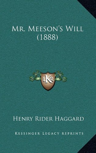 Mr. Meeson's Will (1888)