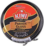 Kiwi Parade Gloss Premium Shoe Polish Paste, 1-1/8 oz, Black