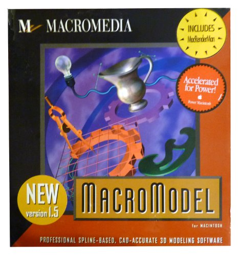 Macromedia Macromodel 1.5 for Macintosh, Professional