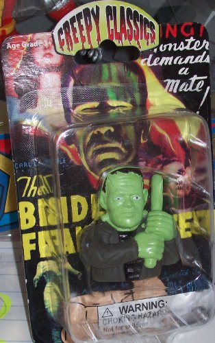 CREEPY CLASSICS MONSTER FINGER PUPPET - FRANKENSTEIN by XONE - 1