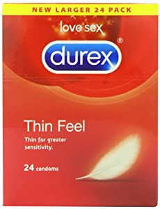Durex Thin Feel Condoms - Pack of 24