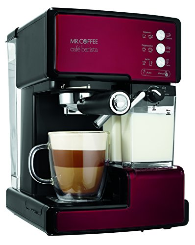 Mr-Coffee-Cafe-Barista-Espresso-Maker-with-Automatic-milk-frother-BVMC-ECMP1000
