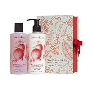 Crabtree and Evelyn Pomegranate Bath and Shower Duo