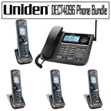 Uniden DECT 6.0 Two-Line Cordless Phone with Digital Answering System ~ Uniden