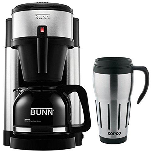 Bunn NHS 10-Cup Generations Home Coffee Brewer w/ 24oz. Big Joe Thermal Mug