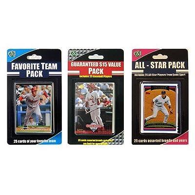 C&I Collectibles Arizona Diamondbacks 2009 Baseball Card 3 pack