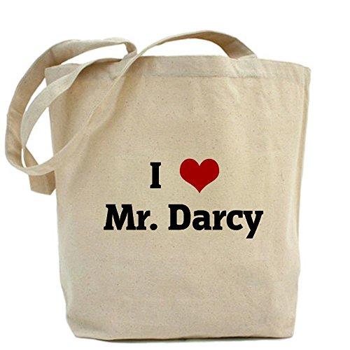 Cafepress I Love Mr. Darcy Tote Bag - Standard Multi-Color