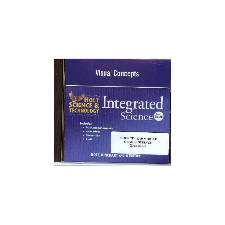 Visual Concepts for Integrated Science Level Blue (Holt ...