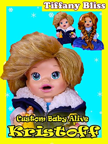 Baby Alive Frozen Kristoff Custom Eats Play-Doh and Poops Surprise Blind Bags