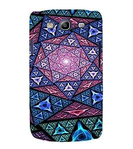 EPICCASE Trippy purple Mobile Back Case Cover For Samsung Galaxy S3 Neo (Designer Case)