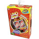 Mattel R2820 Uno Spin To Go Card Game