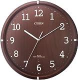 CITIZEN 電波木枠掛時計 シンプルモードアーク 8MYA14-006 8MYA14-006