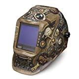 Lincoln Electric VIKING 3350 Steampunk Welding Helmet with 4C Lens Technology - K3428-3 (Color: Steampunk)